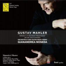 "GUSTAV MAHLER Sinfonia n. 2 in do minore ""Resurrezione"" per soli"