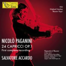 Paganni 24 Capricci for violin solo op. 1