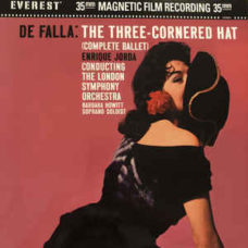 De Falla* –  Enrique Jorda* Conducting  The London Symphony Orchestra,  Barbara Howitt (2)  –  The Three-Cornered Hat (Complete Ballet)