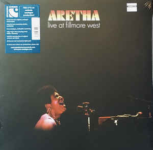 Aretha Franklin  ‎–  Live At Fillmore West